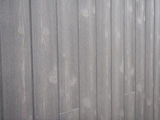 焼杉風の窯業系サイディングがなかなか良いとの下り