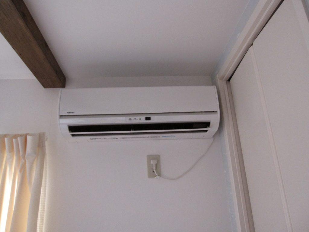 子供部屋にエアコンを・・・
