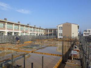 福米西小学校増築工事