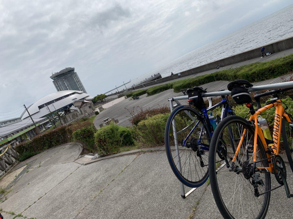 白砂青松の弓ヶ浜サイクリングコースその2
